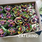 Catering available at fibrre