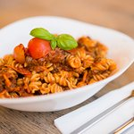 Pasta Funghi Bolognese (vegan)
