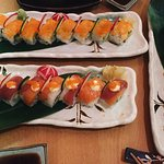 Rainbow rolls and other rolls