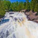 Spring Waterfalls - Cross River Near Bluefin Bay