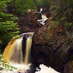 Cascade River & Cascade Falls - Near Bluefin Bay