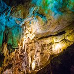 cave colors in light
