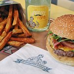 Menu burger Tête de lard