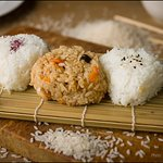 Onigiri rice balls, Photo: Janez Marolt