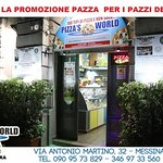 Photo de Pizza's World Messina dal Campione Carmelo Guarnera