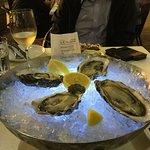 4 different types of fresh oysters