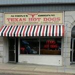 Altoona's Original Texas Hotdogs downtown Altoona, PA