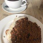 coffee & carrot cake.