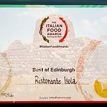 Italian Food Awards 2