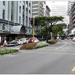 Lambton Quay ~ at the rear of the hotel