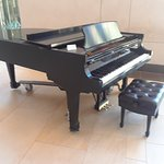 Steinway Grand for visiotrs to play