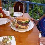 the 2 pound burger