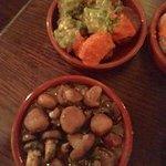 Sauteed Spanish Style Button Mushrooms