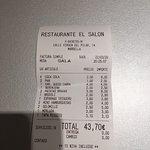 Bilde fra El Salon Marbella