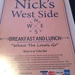 Foto van Nick's on the West Side