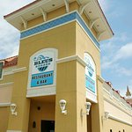 Located across from the movie theater in Pelican Place at Gulf Shores