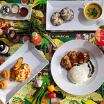 A selection of  specially prepared dishes