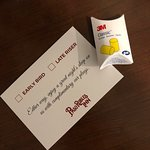 If a hotel provides ear plugs in your room, turn around and find a different hotel