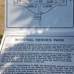 NATIONAL HEROES PARK MONUMENTS