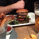 Gigantes hamburguesas