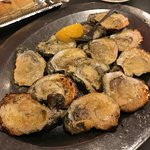 Jimmy G's grilled oysters