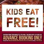 #BartonBanglaBrasserie Kids Eat Free!