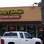 entrance to Hungry Howie's