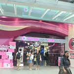 Center point of Siam Square