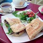 Poet's Sandwich at Poets Corner in Kinsale, Co. Cork, Ireland