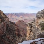 Grand Canyon from Mule Trail at Grand Canyon Village