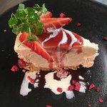 Strawberry & Clotted Cream Cheesecake