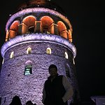 One of the few hotels that you can enjoy the roof in Galata . It has two views , one on the Gold