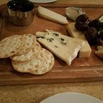 Cheese board with baby figs!