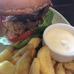 The Squires Fortune - Chicken Burger
