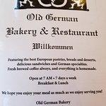 Billede af Old German Bakery and Restaurant