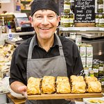 Roger and his amazing sausage rolls!