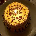 Birthday cake spoils