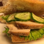 несвежий сэндвич
