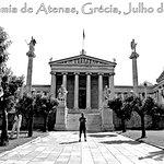 Academia de Atenas, Grécia, Julho de 2017.