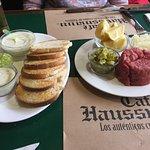 El tártaro del Café Haussmann, especialidad de la casa