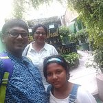 After lunch at Moti Mahal, with my wife and kid, Sep 2017
