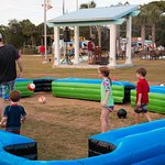 Family Activities and Games at The Village Lawn