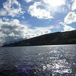 The dark waters of Loch Ness
