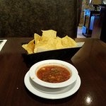 Fresh chips and Salsa