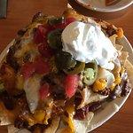 Traditional nachos were delicious!