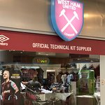 West Ham United store in Lakeside