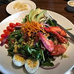 Lobster Cobb entree salad