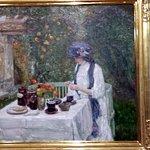 """French Tea Garden"" by Hassam"