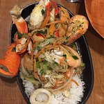 Gympie Terrace Seafood Combo