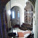 El altar mayor, visto desde la planta alta del museo catedralicio.